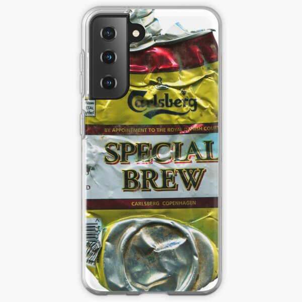 Special Brew - Crushed Tin Samsung Galaxy Soft Case