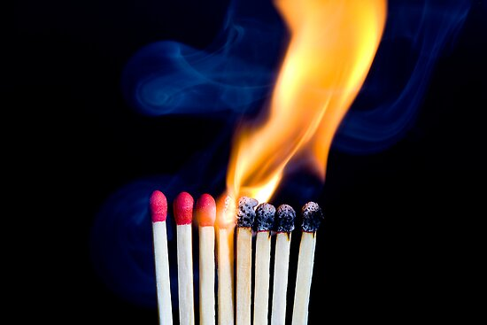 Playing With Matches by Mark Snelson