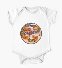 Chinese Dragons with Pearl of the Sea One Piece - Short Sleeve