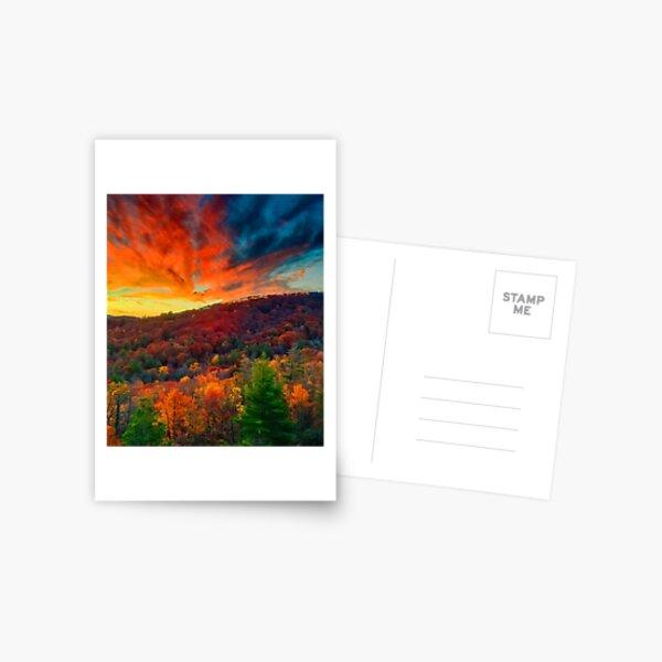 Autumn in North Carolina Postcard