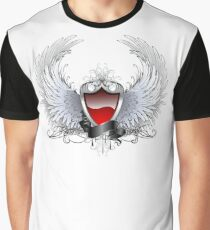 Red angel shield ( Shields ) Graphic T-Shirt