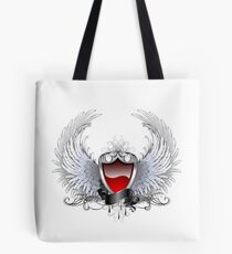 Red angel shield ( Shields ) Tote Bag