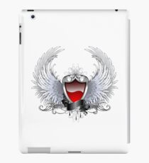 Red angel shield ( Shields ) iPad Case/Skin