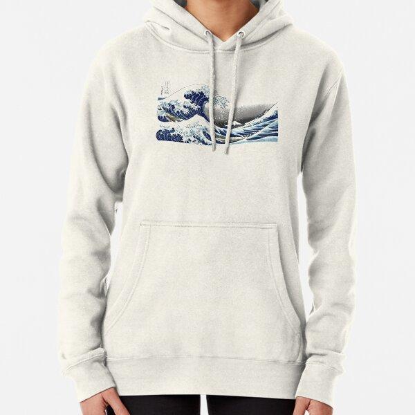 Gran ola, Hokusai 葛 飾 北 斎 の 神奈川 沖浪 Sudadera con capucha