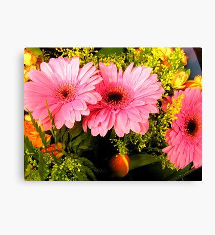 Pretty Pretty Pink Fowers  Canvas Print