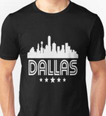 Retro Dallas Skyline Unisex T-Shirt
