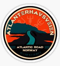 Atlanterhavsveien 1 - Atlantic Ocean Road Norway Sticker