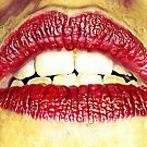 Red lips by Amanda Bussio