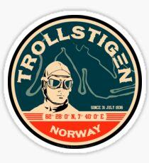Trollstigen 1 - The Troll Road Norway Sticker