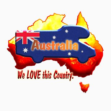 Motorhome on Australian colours. by JotaEme