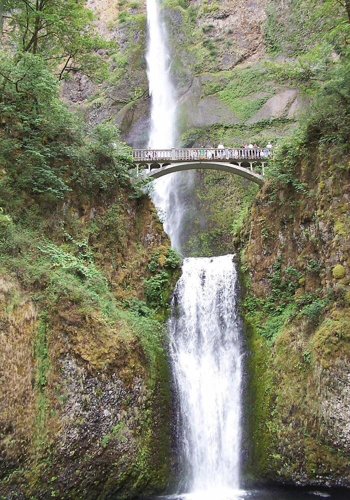 Multnomah Falls by heathernicole00