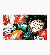 My Hero Academia Deku Photographic Print