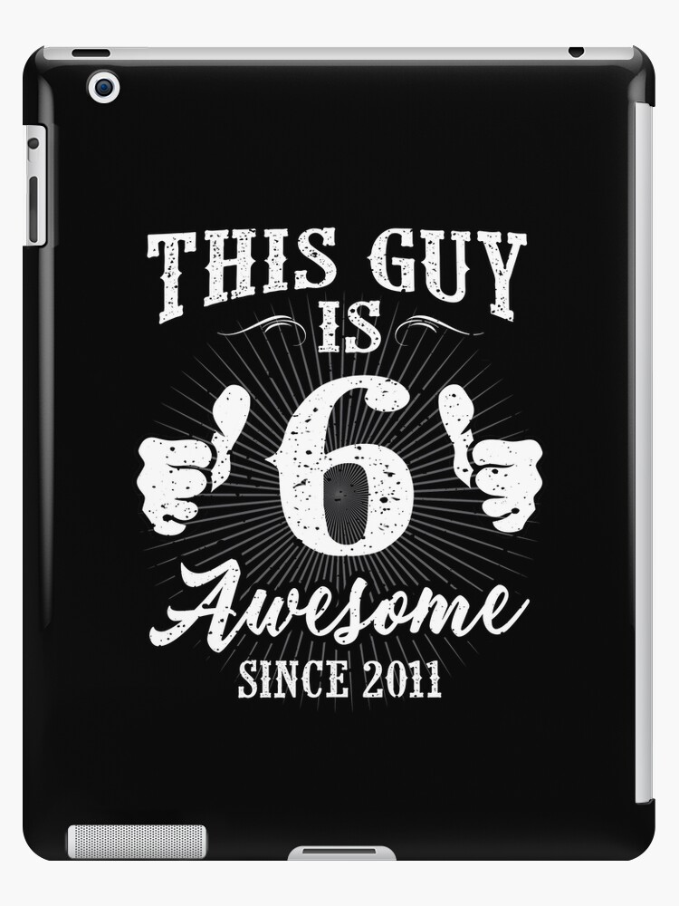 Vintage 6 Yr Old Awesome Since 2011 Birthday 6th by SpecialtyGifts