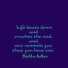 Life beats down by Kestrelle