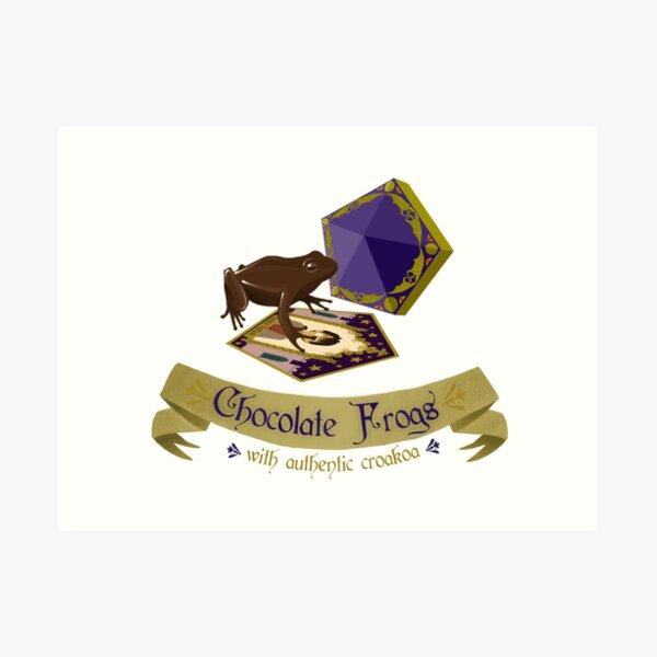 Chocolate frogs Lámina artística