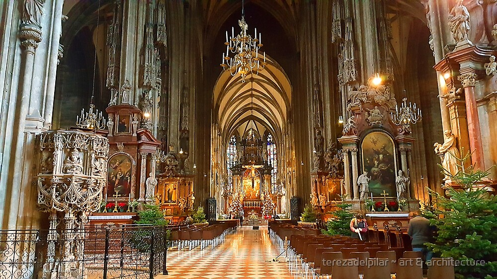 St Stephen's Cathedral. Vienna.  by terezadelpilar ~ art & architecture