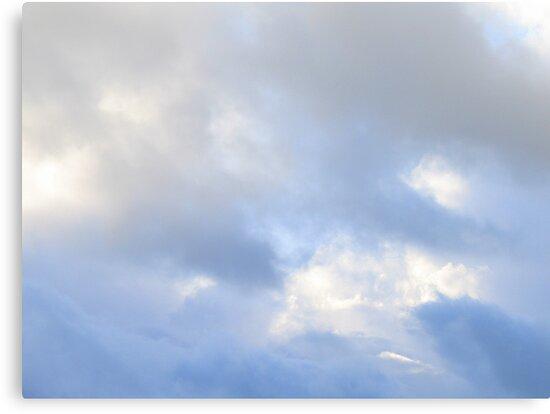 Clouded Sky - Misty Blue by HELUA