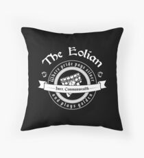 The Eolian Bar (Name of the Wind) Throw Pillow