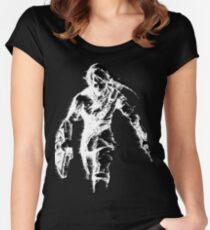 Stylized Legend of Zelda Link Women's Fitted Scoop T-Shirt