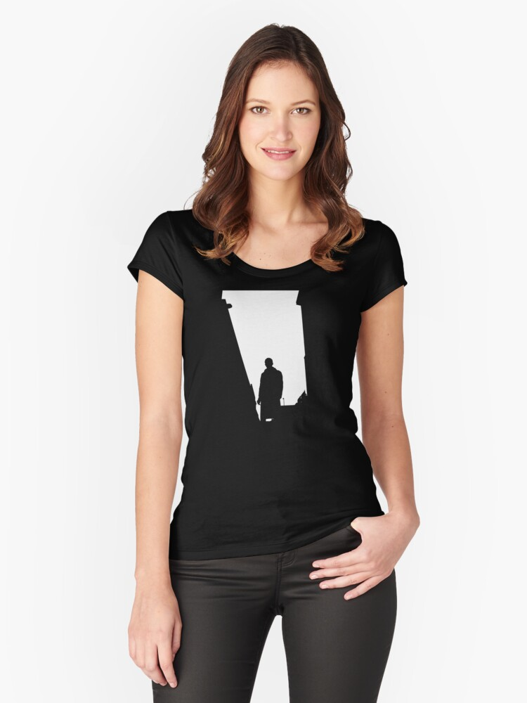 Hero Women's Fitted Scoop T-Shirt Front