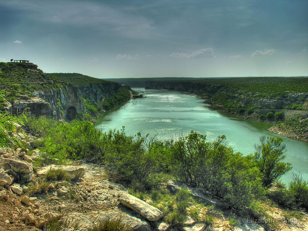 Pecos River  by LizzieMorrison