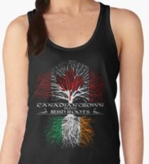 Canadian Grown with Irish Roots Women's Tank Top