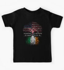 American Grown with Irish Roots Kids Clothes