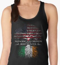American Grown with Irish Roots Women's Tank Top