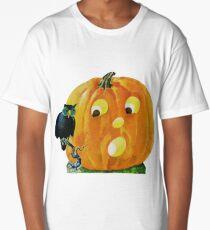 Retro Halloween Jack O'Lantern Long T-Shirt