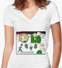 jocko Women's Fitted V-Neck T-Shirt
