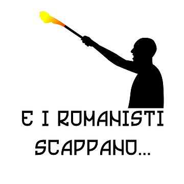 E i romanisti scappano! by BlackJack-AD