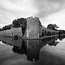 Bishops Palace, Wells, Somerset by Victoria Ashman