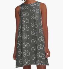 Bicycle A-Line Dress