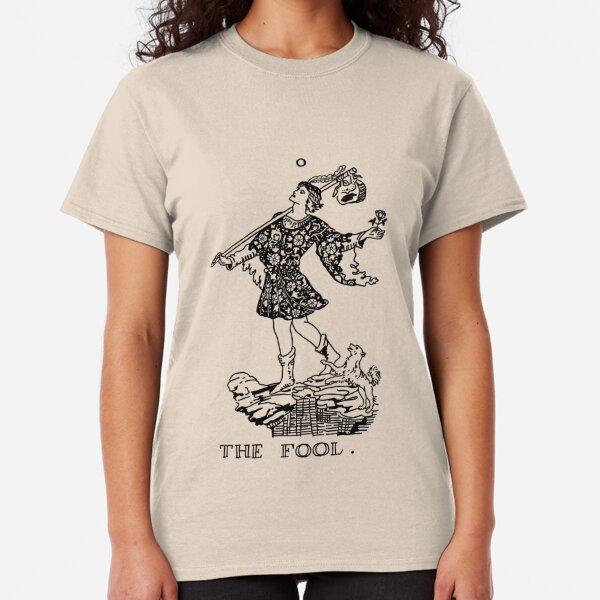 The Fool Tarot Card Classic T-Shirt
