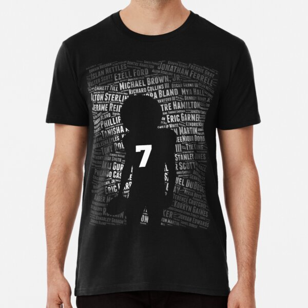 Black Lives Matter: Why He Takes a Knee Premium T-Shirt