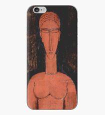 Red bust Amedeo Modigliani  iPhone Case