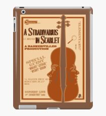 A Stradivarius in Scarlet iPad Case/Skin