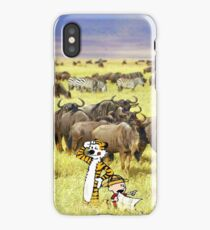 Calvin and hobbes iPhone Case