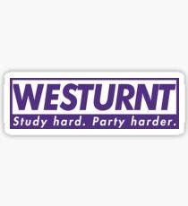 Westurnt Sticker