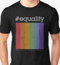 LGBT Equality Polaroid Vintage T-Shirt