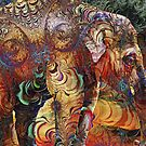 Indian Elephant by WickedLola