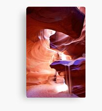 Weeping Sand in Antelope Canyon Canvas Print