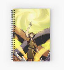 """""""Light"""" Spiral Notebook"""