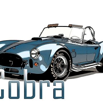 classic Cars, Cobra by Tee-Art