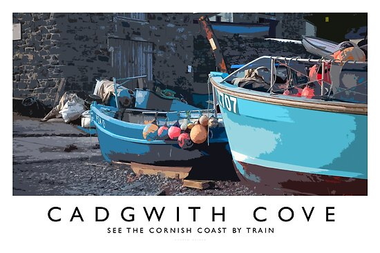 Cadgwith Cove by Andrew Roland