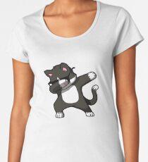 Dabbing Cat Funny Shirt Dab Hip Hop Dabbing Kitten Women's Premium T-Shirt
