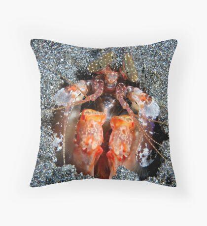 Mantis Mischief Throw Pillow