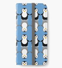 LONELY PENGUIN REFLECTING iPhone Wallet/Case/Skin