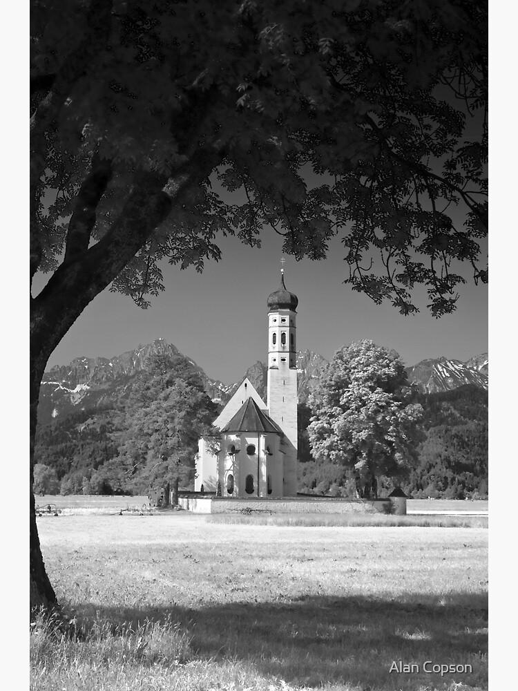 Kolomanskirche. Bavaria. (Alan Copson © 2008) by AlanCopson