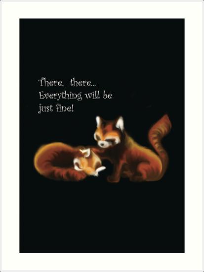 Red Panda by SaraLisiDesigns